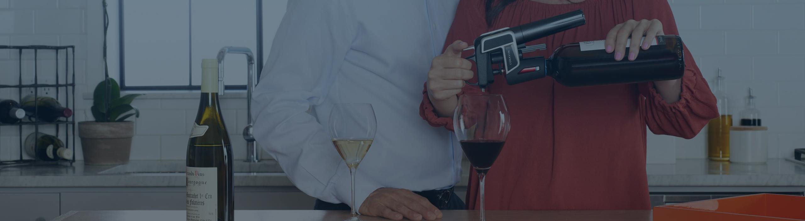 При покупке любой модели CORAVIN серии Elite, в подарок баллончик Winesave PRO